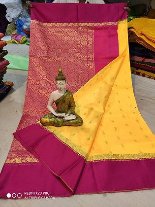 Yellow and Pink Sari