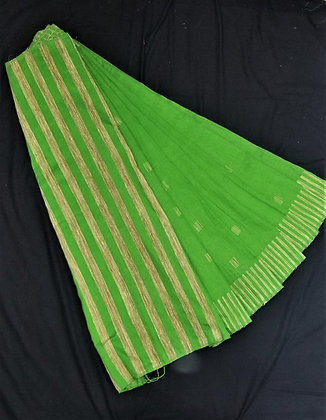 Handloom Gheecha Bright Green