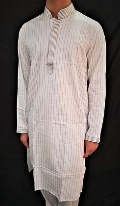 Off-White Cotton Kurta