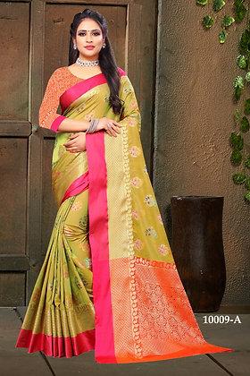 Mahndi Art Silk Sari