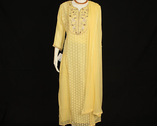 Yellow ready wear suit
