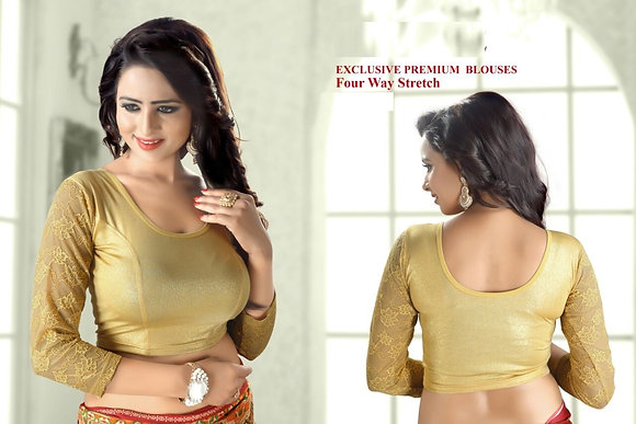 EXCLUSIVE PREMIUM BLOUSES (Gold Style3)