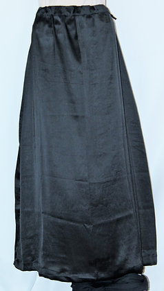 GRAY SATIN PETTICOAT UNDER-SKIRT FOR SAREES