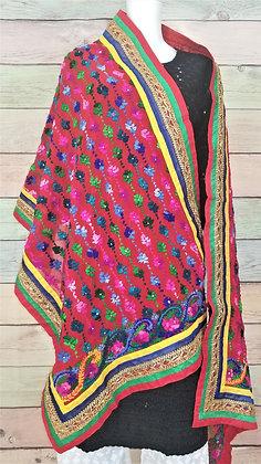 Multi-Color Phulkari Dupatta