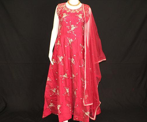 Red ready wear suit