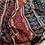 Thumbnail: Ajrakh Deep Blue chanderi handloom saree