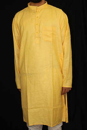 Mango Yellow Kurta ( L )