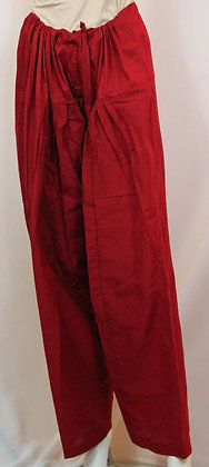 DARK MAROON COTTON SALWAR FOR KAMEEZ