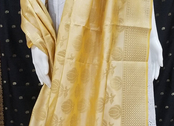 Golden silk Dupatta