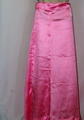 PINK SATIN PETTICOAT UNDER-SKIRT FOR SAREES