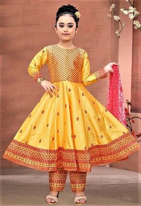 Orange Child Salwar Kameez