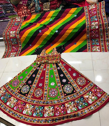 Gujarati Chaniya Choli for Garba Dandiya(M/L)