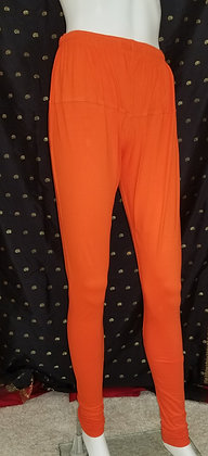 Orange Lycra Leggings