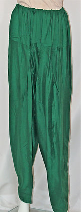 DARK GREEN COTTON SALWAR FOR KAMEEZ