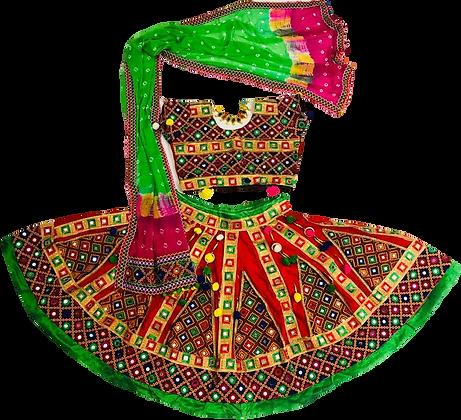 Gujrati Garbha Dance Lehnga