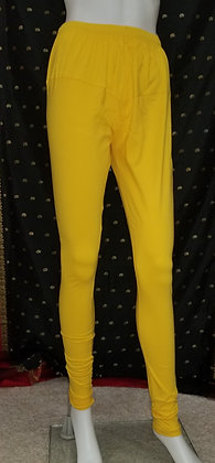 Yellow Lycra Leggings