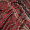 Thumbnail: Ajrakh Maroon and Blue chanderi handloom saree