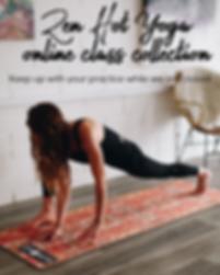 Zen Hot Yoga Practice at home