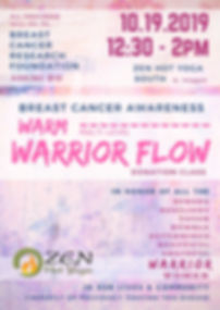 Breast Cancer Donation Class  - Warrior