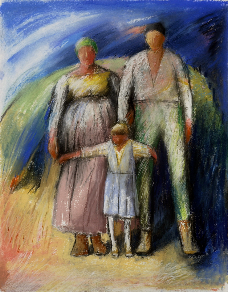 Family II (after Courbet)