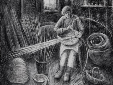 Diana, a beekeeper