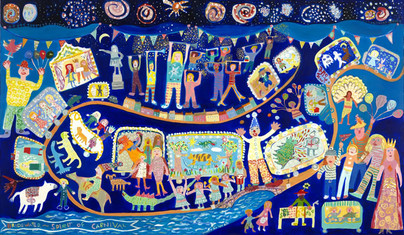 Bridgwater Carnival by primary school pupils