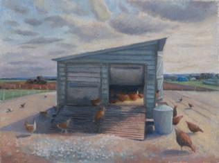 The hen house, Glebe Farm