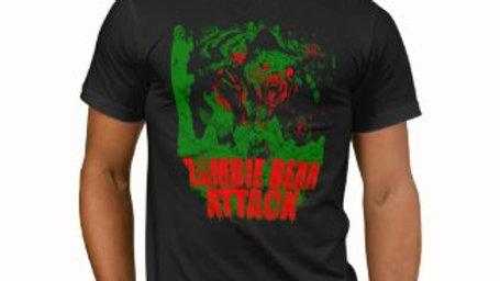 ZOMBIE BEAR ATTACK t-shirt