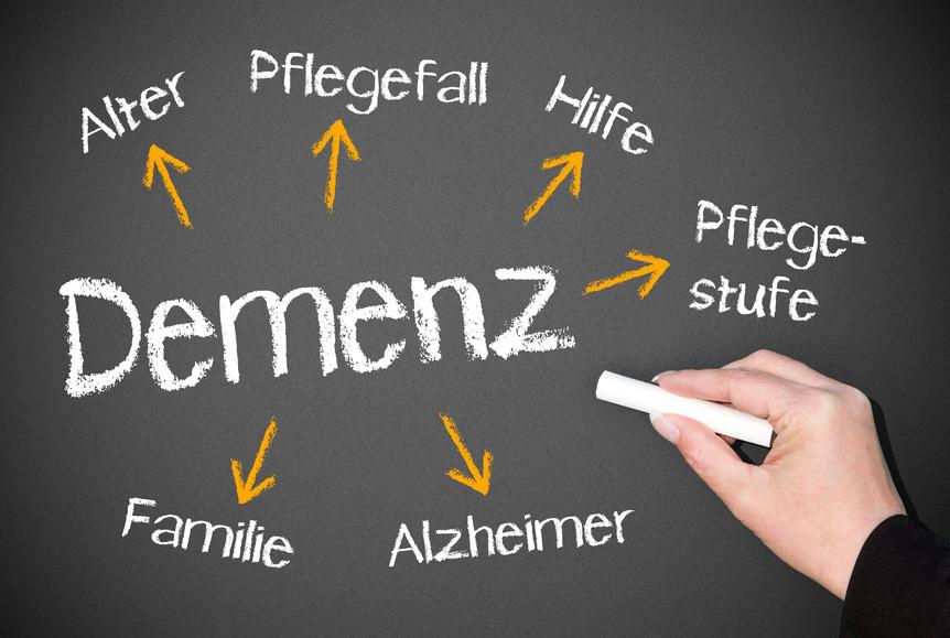 Stress kann Demenz fördern