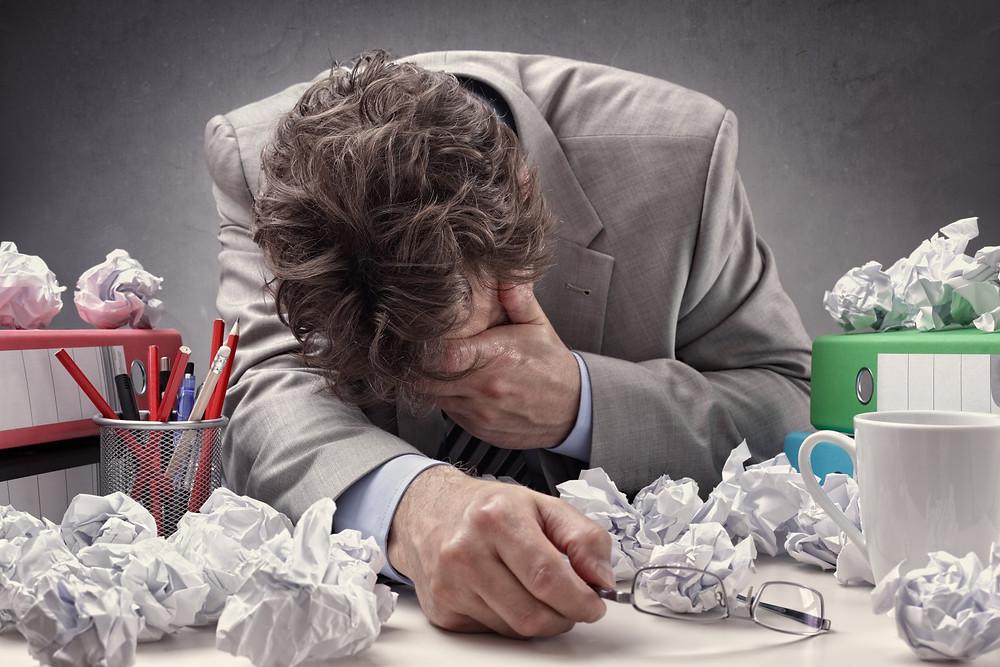 Burnout, Stress und Überforderung