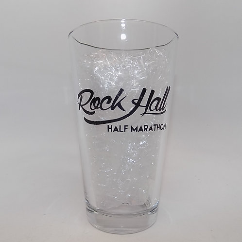 Rock Hall Half Marathon Pint Glass