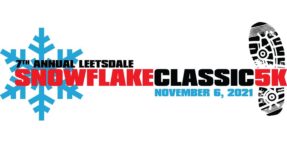 Leetsdale Snowflake 5k