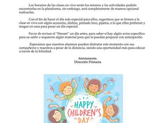 Día del niño (Primaria)