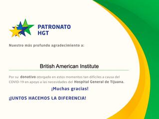 Agradecimiento Patronato HGT