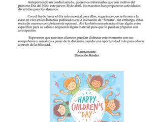 Día del niño (Kinder)