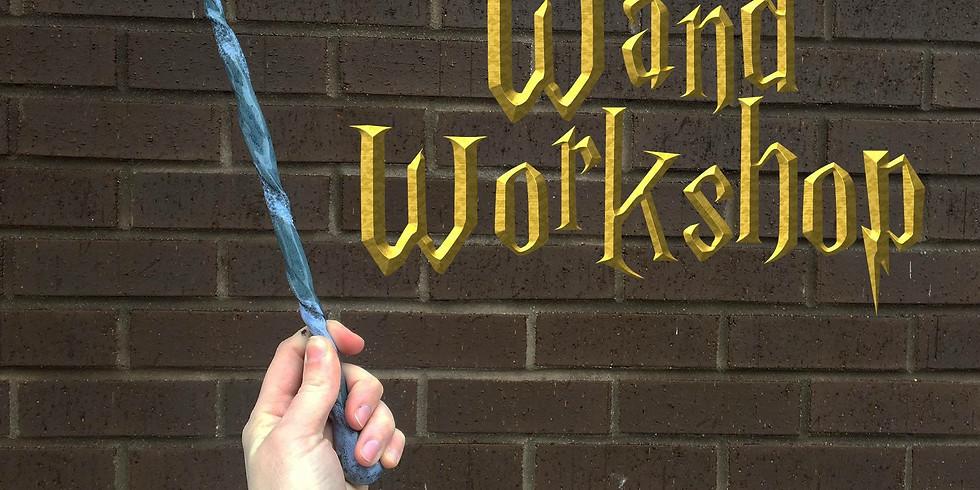 Wand Workshop with Kristin