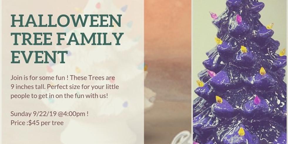 Halloween Tree Family Time