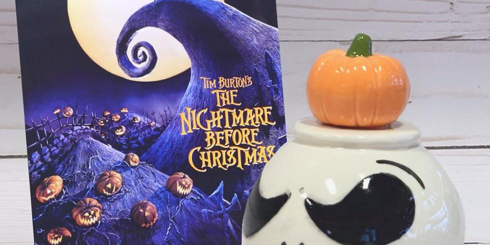 Nightmare Before Christmas Money Ball Bank