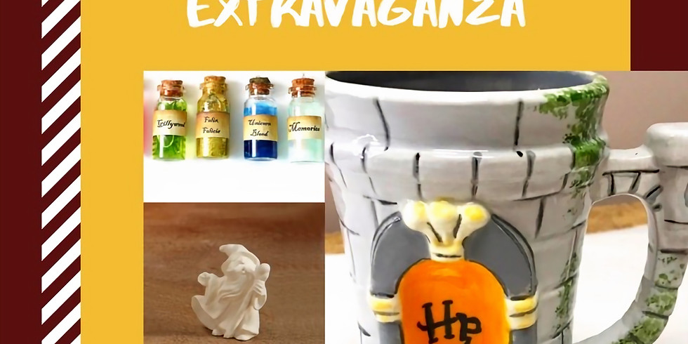 Harry Potter Halloween Potions Paint Extravaganza