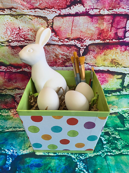 Easter To go Bunny and eggs kit