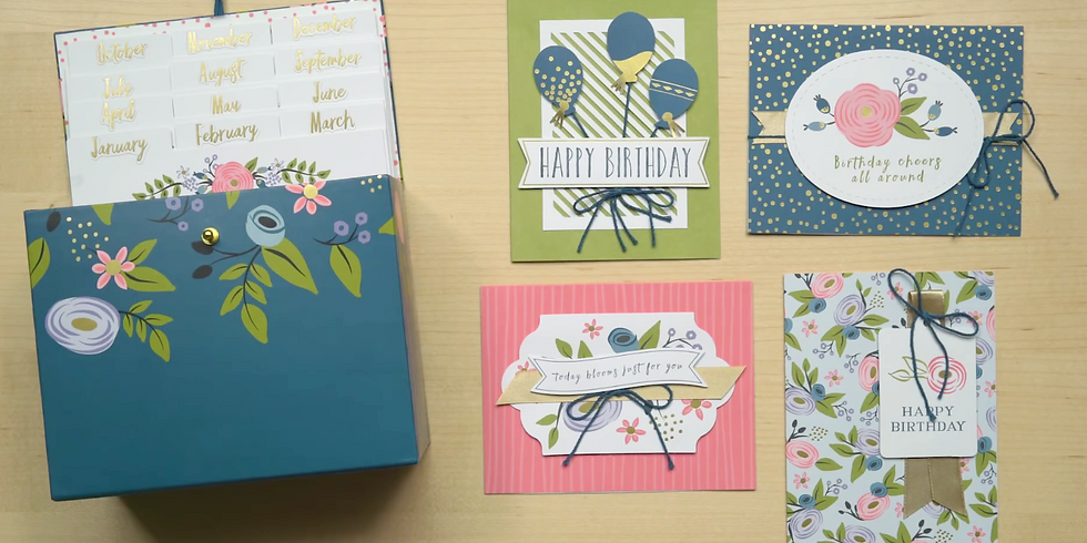 Perennial Birthday Cards with Aimée