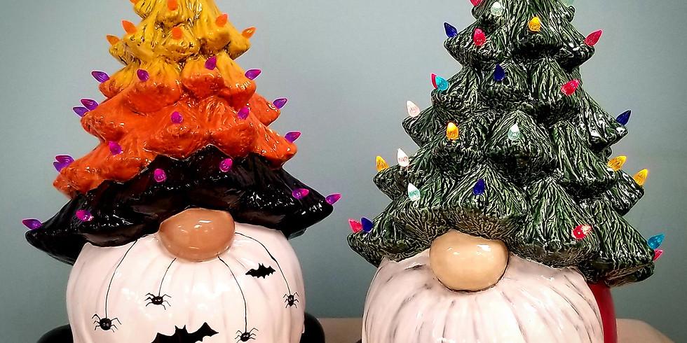 Gnome Ceramic Tree's
