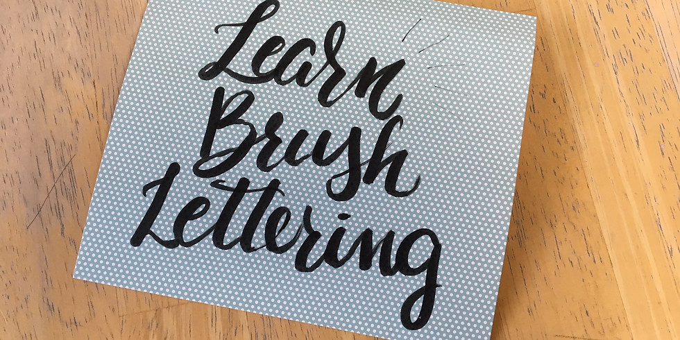 Intro to Brush Lettering with Aimée