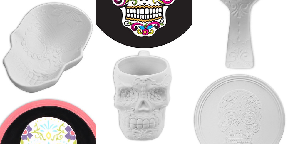Day of the Dead Paint Night Party byob Adult Night