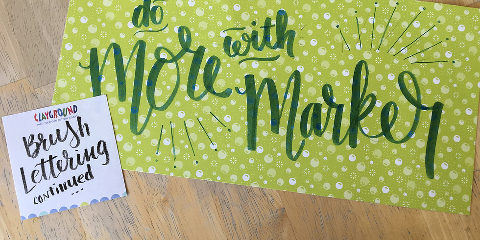 More Brush Lettering with Aimée