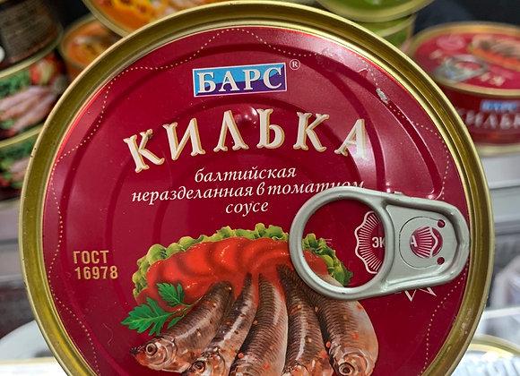 Килька Балтийская неразделенная в томатном соусе