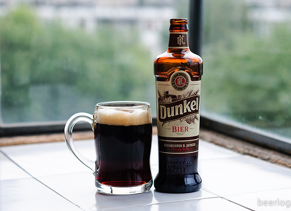"""Пиво """"Крюгер Дункель"""" темное фильтрованное 0.5"""