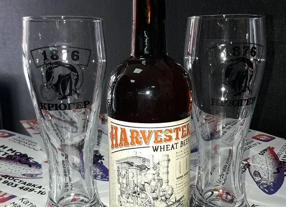 """Пиво """"Харвестер"""" пшеничное светлое нефильтрованное 0.5"""