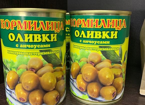 Оливки с анчоусами