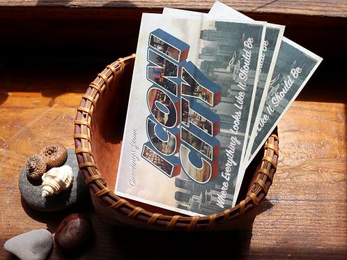 Iconi City Postcards (Set of 10)